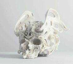 Katsuo Aoki, Predictive Dreams, porcelain, 2011. http://katsuyoaoki.s1.bindsite.jp/