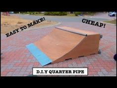 Discover recipes, home ideas, style inspiration and other ideas to try. Build A Scooter, Scooter Ramps, Bmx Ramps, Make A Skateboard, Skateboard Ramps, Skate Wallpaper, Half Pipe Plans, Skate Rail, Skate Logo