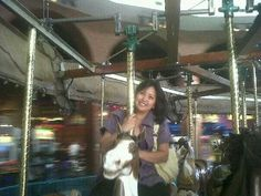 Carousels make me happy!