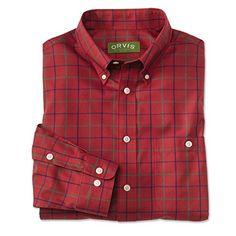 Orvis Men's Pure Cotton Wrinkle-free Long-sleeved Shirts, Red, X Large Orvis http://www.amazon.com/dp/B005KBA19Y/ref=cm_sw_r_pi_dp_.Zxmub16S0DXZ