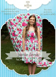"""Sis Boom: """"Jamie Dress Pattern"""" - i could see myself making this pattern in several fabrics, its a very """"me"""" shape."""