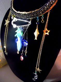 Sea Goddess Necklace by avabunny on Etsy, $260.30