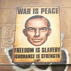 This Big Brother. | 14 Pieces Of Tony Abbott Graffiti That Actually Exist