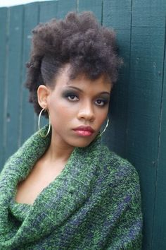 Natural Hair.  I love love love this! Can't wait for my length to get here so I can try it!