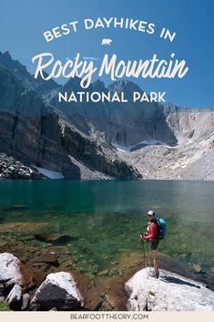 Get our guide to the best day hikes in Rocky Mountain National Park including distances, trail descriptions, what to be prepared for, and more. Road Trip To Colorado, Colorado Hiking, Visit Colorado, Mountain Vacations, Mountain Hiking, Utah, Grand Lake, Continental Divide, Travel Usa