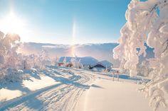 Winter morning in Norway