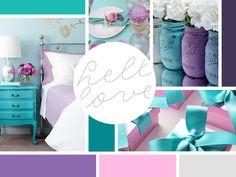 Debbie Treasure's · Rekita Nicole Graphic Design Inspiration, Color Inspiration, Brand Board, Web Design, Mood Boards, Creative, Bright, Colors, Home Decor