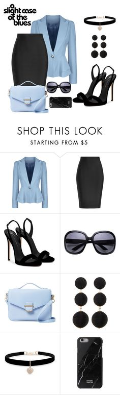 """Untitled #884"" by the-luxurious-glam ❤ liked on Polyvore featuring WithChic, Roland Mouret, Giuseppe Zanotti, Cynthia Rowley, Cara, Betsey Johnson and Native Union"