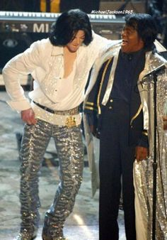Michael Jackson & James Brown, BET AWARDS 2001