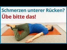 Hast du Schmerzen im unteren Rücken? Lower back pain is a painful subject in the truest sense of the word. These yoga exercises help you to relieve back pain. Yoga Fitness, Fitness Workouts, Pilates Workout, Pilates Reformer, Physical Fitness, Health Fitness, Training Fitness, Yoga For Back Pain, Low Back Pain