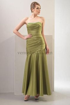mother of the bride dresses tea length | Mother of the Bride Dresses - 2012 Simple Empire Strapless Tea-length ...