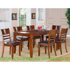 East West Furniture LYT Lynfield Dining Table