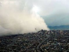 This is a blizzard rolling over the City of Buffalo