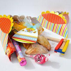 12 big Mishloach Manot package Hamantaschen design by HavaNagila, great gift basket for purim! ₪49.90