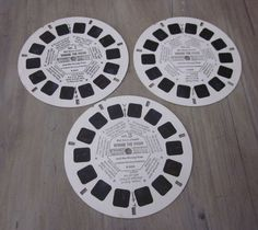 """Great Viewmaster reel featuring Winnie The Pooh titled """"The Honey Tree."""" Includes Piglet, Kanga and Rabbit"""