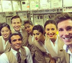 From @flying.chris Am I Emirates Cabin Crew?  Thank you guys for this incredible flight. you did a great job. i felt so well. #emirates #airline #lufthansa #today #as #a #passanger #almost #same #uniform #crewlife #crewlove #cabincrew #onefamily #international #globetrotter #travel #777 #munich #dubai #holiday #vacation #crewiser #layover #avgeek #flightattendant #crewlifestyle #cabinattendant #airlines #flightattendants