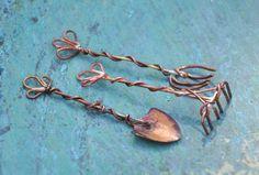 3ToolsCopper. http://art-spired.livedan330.com/2013/10/05/mini-garden-tools/ miniature - soldering - wire