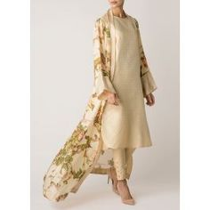 <p>Silk Oriental Kimono forms part of our Floral Art Collection, made from pure silk, this kimono is light and floaty and practically weightless. Pair with Ivory Brocade Slip and Trousers.</p>