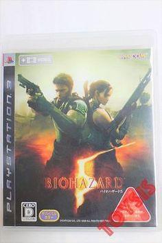 USED PS3 Biohazard 5 JAPAN resident evil bio hazard free shipping play station