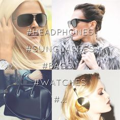 #headphones #sunglasses #bags #watches #relojes #gafasdesol #auriculares #bolsos #fashion #moda #cool www.ambetion.com