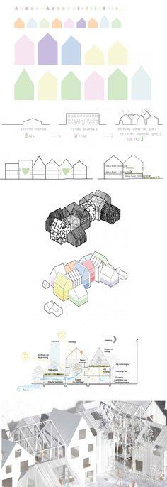 arquitectura guarderia infografia