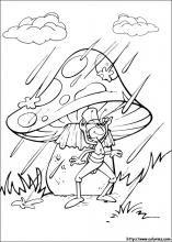 Dibujos de Abeja Maya para colorear en Colorear.net