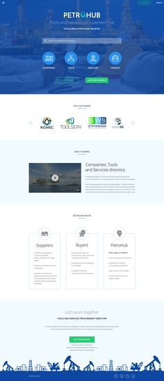 This online service allows every manufacturer, third party vendor and other industry players to represent their tools, products and services. User can place all information regarding his products on company page. User can also increase visibility of his products, highlight company in the listing.
