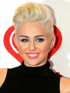 Miley Cyrus Cute Short Hairstyles #shorthair #hairinspiration