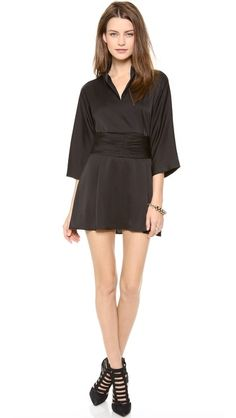 Tucker Kimono Belt Dress | selected by jamesdrygoods.com for the made in america: contemporary project | #madeinusa |