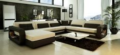 u shaped sectional couch