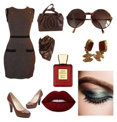 """Sem título #26"" by jacy-mariah on Polyvore featuring moda, Chanel, Lime Crime e Bella Bellissima"