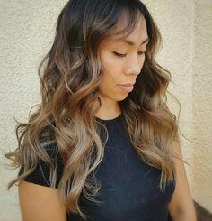 News Highlights, Caramel Balayage, Make Up, Long Hair Styles, Color, Beauty, Long Hairstyle, Colour, Makeup