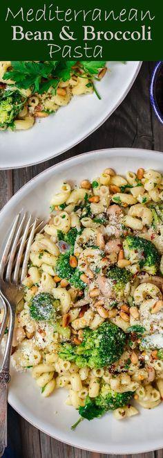 Broccoli Pasta, Broccoli Recipes, Pasta Recipes, Salad Recipes, Cooking Recipes, Mediterranean Dishes, Mediterranean Diet Recipes, Mediterranean Style, Healthy Dinner Recipes