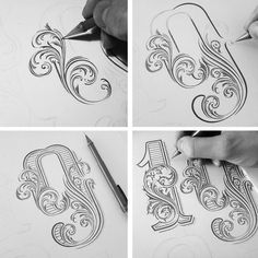 Collection of hand-drawn lettering& typography designs made in 2015 and beggining of 2016