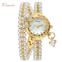$41.80 (Buy here: https://alitems.com/g/1e8d114494ebda23ff8b16525dc3e8/?i=5&ulp=https%3A%2F%2Fwww.aliexpress.com%2Fitem%2F2016-Kimio-Korea-Luxury-brand-butterfly-pearls-bracelet-Watch-Women-female-Ladies-Dress-fashion-Quartz-Wristwatch%2F32675210834.html ) 2016 Kimio Korea Luxury brand butterfly pearls bracelet Watch Women female Ladies Dress fashion Quartz Wristwatch Casual clock for just $41.80