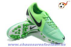 Nike CTR360 Maestri III AG Vert Noir FT8981