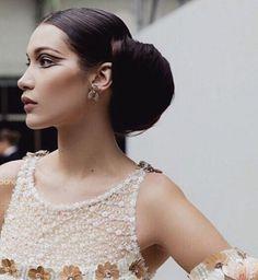 Bella Hadid au show Chanel