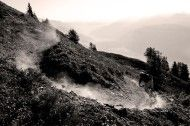 Photo of the Day: Mattias Fredriksson - Janne Tjärnström. Crans Montana, Switzerland. Mountain biking.