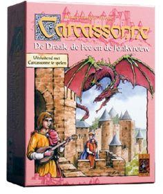 Carcassonne: De draak, de fee en de Jonkvrouw