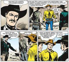 Tex Willer Kirjasto 28 - Kaksintaistelu iltapäivällä. #sarjakuva #sarjis #egmont