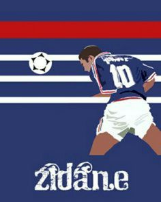Zinedine Zidane of France wallpaper.