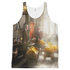 Banker - Worth its weight in gold All-Over Print Tank Top Tank Tops