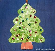 Tissue Paper Tree -