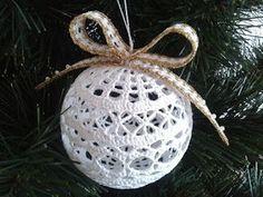 Christmas Snowballs Thread Crochet ePattern - Her Crochet Crochet Snowflake Pattern, Crochet Motifs, Christmas Crochet Patterns, Holiday Crochet, Crochet Snowflakes, Christmas Knitting, Crochet Christmas Decorations, Crochet Ornaments, Crochet Decoration