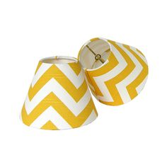 Items similar to Chandelier Shade Sconce Clip-On Lamp Shade Lampshade Premier Prints Zig Zag Yellow Made to Order on Etsy