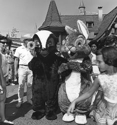 Happy Easter at Disneyland 1963 ...................... Flower the skunk :)