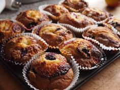 Blueberry Lemon Muffins  Hairy Bikers