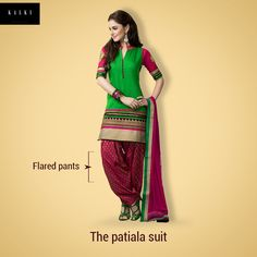 Get the original flavor of Punjab, with this stunning Patiala.