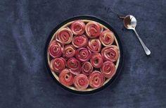 Friskt. Blødt, sødt, sprødt og salt. Æble og saltkaramel er ualmindelig gode…