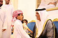 Saud bin Saqr Al Qasimi with Martyrs Families | by rakmedia